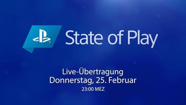 State of Play - Livestream - Übertragung - Video