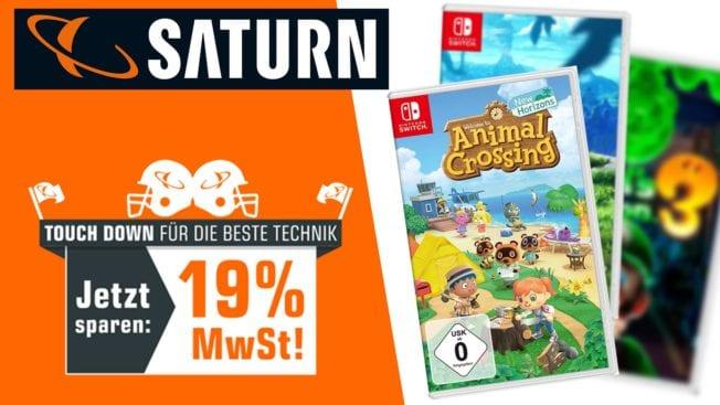 Saturn Mwst - Nintendo-Spiele