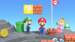 Animal Crossing New Horizons Super Mario Bros.