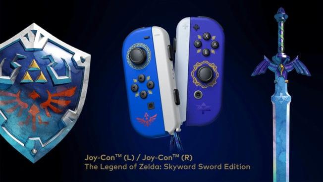 Skyward Sword Joy-Cons für Nintendo Switch
