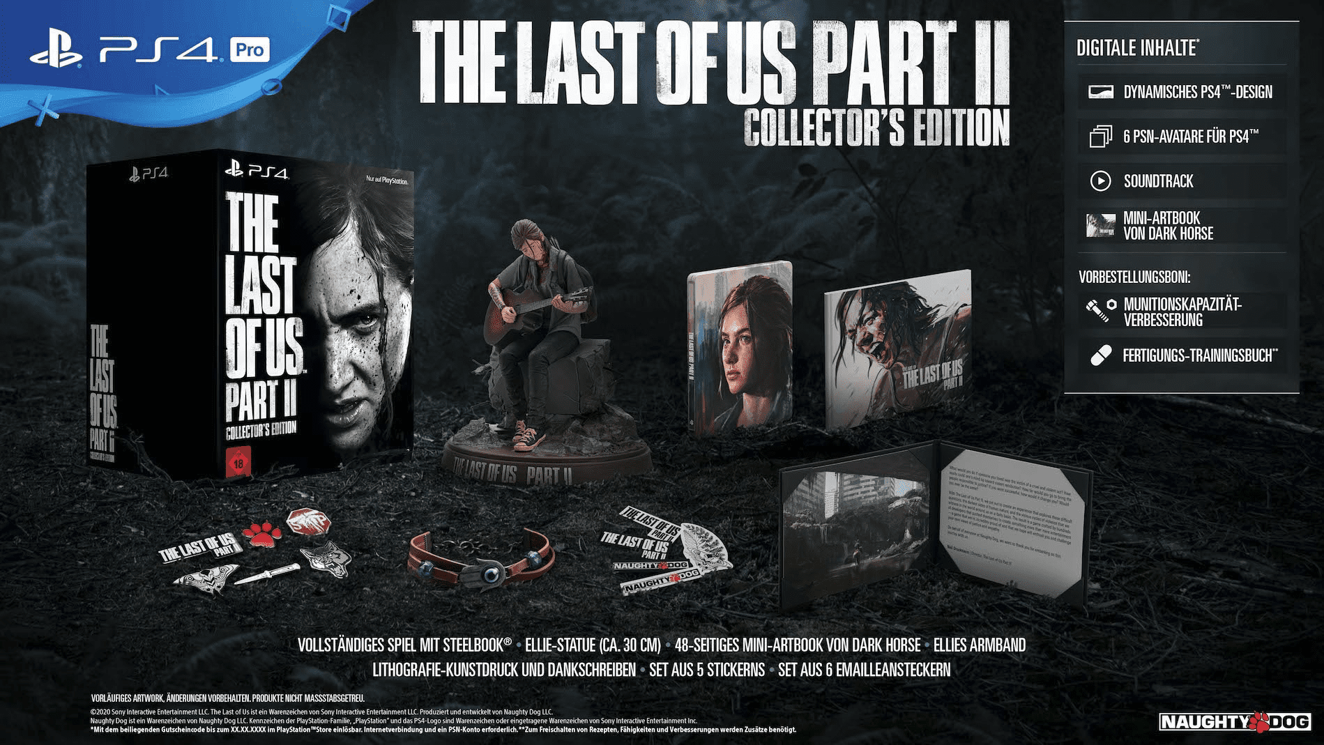 The Last of Us 2 Giveaway Merchandise Collector's Edition