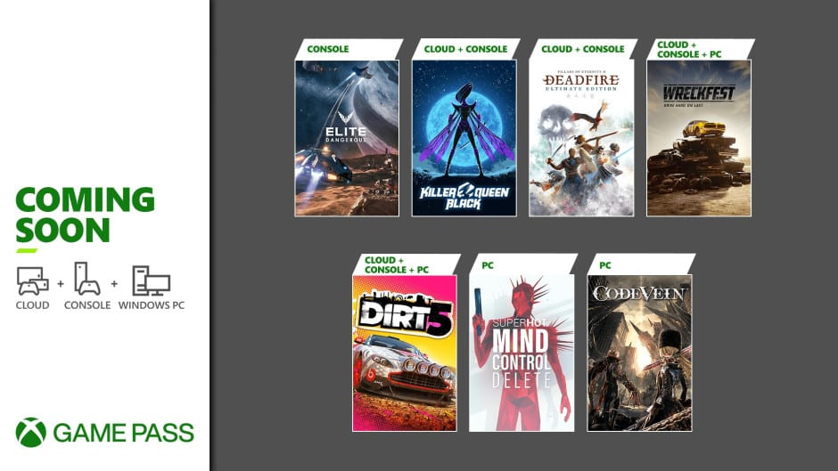 Xbox Game Pass Februar 2021