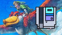 The Legend Of Zelda Skyward Sword HD - Bilder - Größe des Spiels