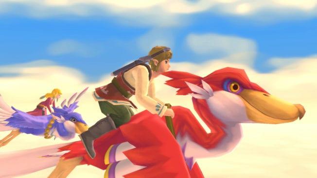 The Legend Of Zelda Skyward Sword HD - Bilder - Himmel
