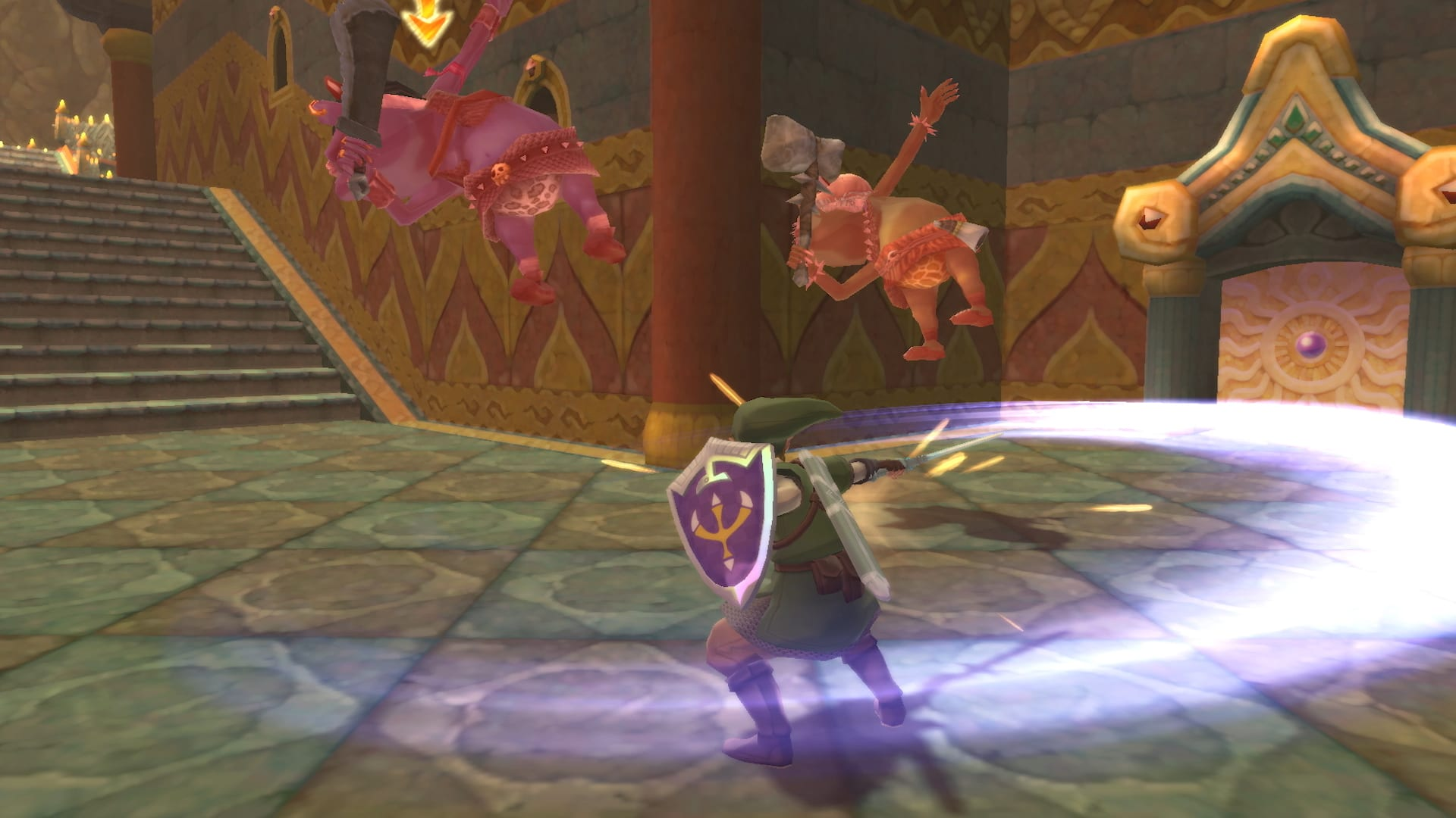 The Legend Of Zelda Skyward Sword HD - Kampf - Gameplay