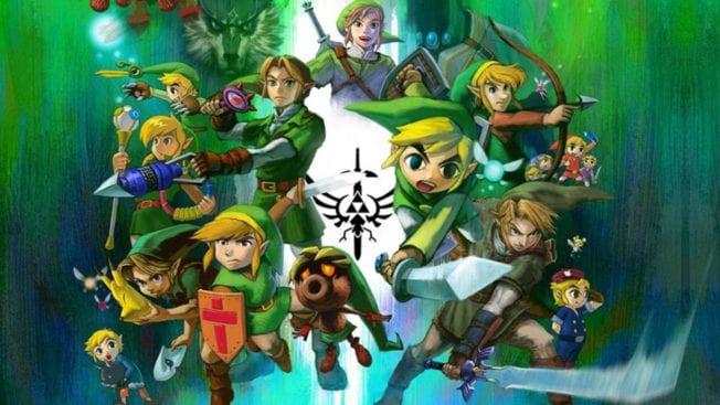 The Legend of Zelda-Reihe im Bild