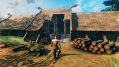 Valheim - Bilder Wallpaper Screenshots - Haus bauen