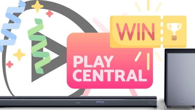 Gewinnspiel Soundbar PlayCentral