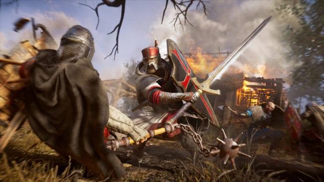 Assassin's Creed Valhalla Rüstung Schwert Heiliger Georgius