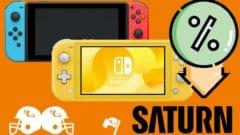 Nintendo Switch Tiefpreis günstigster Preis Saturn