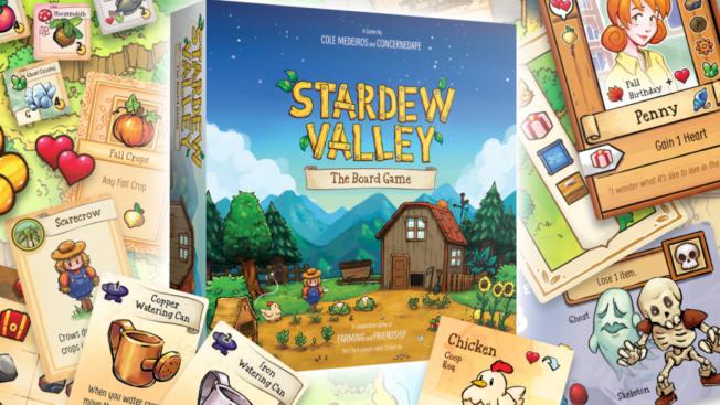 Stardew Valley Brettspiel Board Game