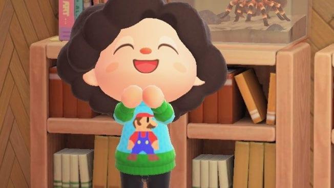 Animal Crossing New Horizons Update 1.8.0 Super Mario
