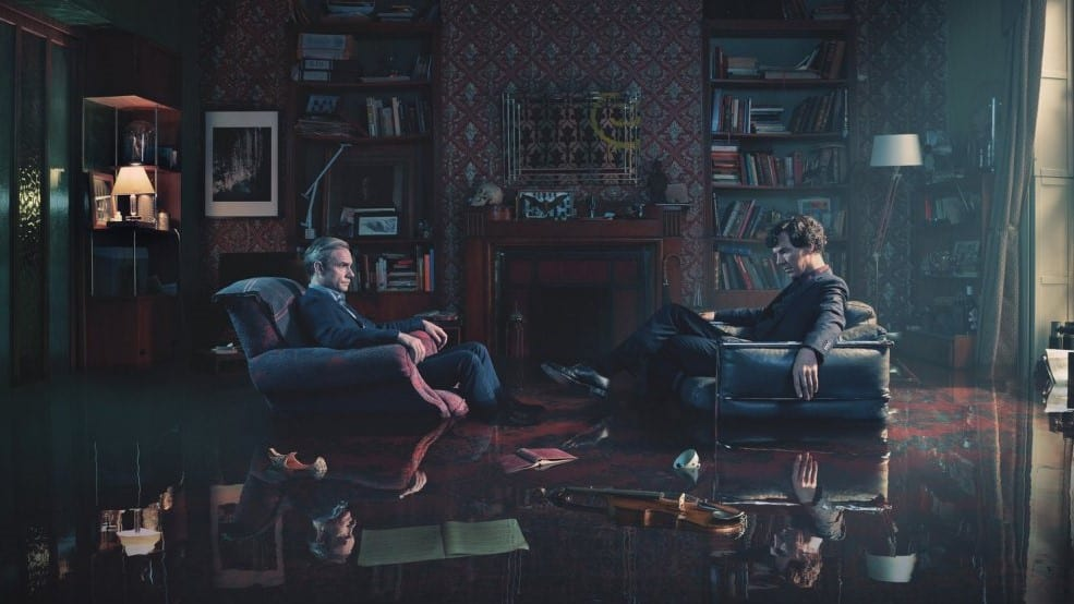 Sherlock BBC Serie Cumberbatch Freeman