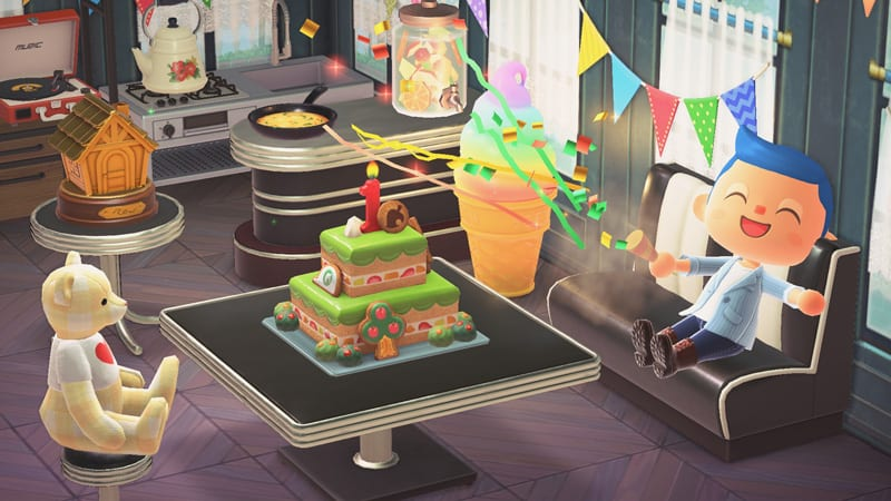 Animal Crossing New Horizons Jubiläum Update