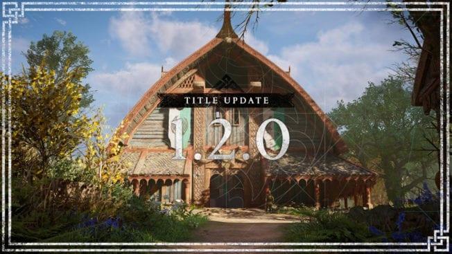 Assassin's Creed Valhalla Update 1.2.0