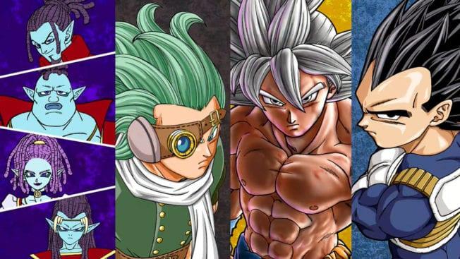 Dragon Ball Super Manga Granola Mächtigster Krieger