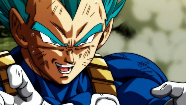 Dragon Ball Super Manga Vegeta