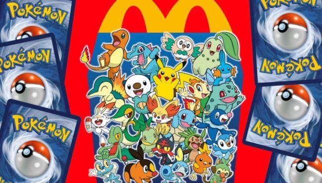 McDonald's Pokémon Karten