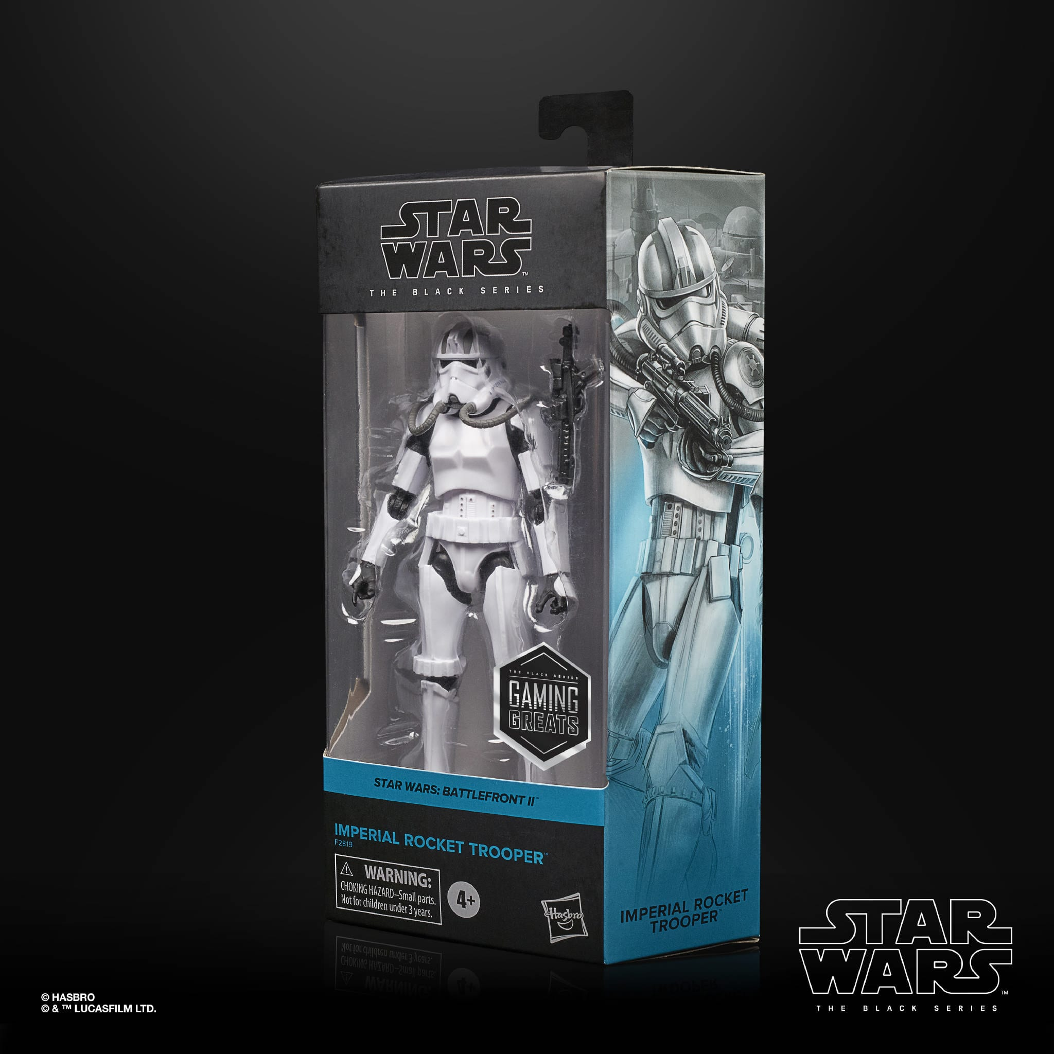 Hasbro The Black Series - Imperial Rocket Trooper - Raketentruppler - Verpackung