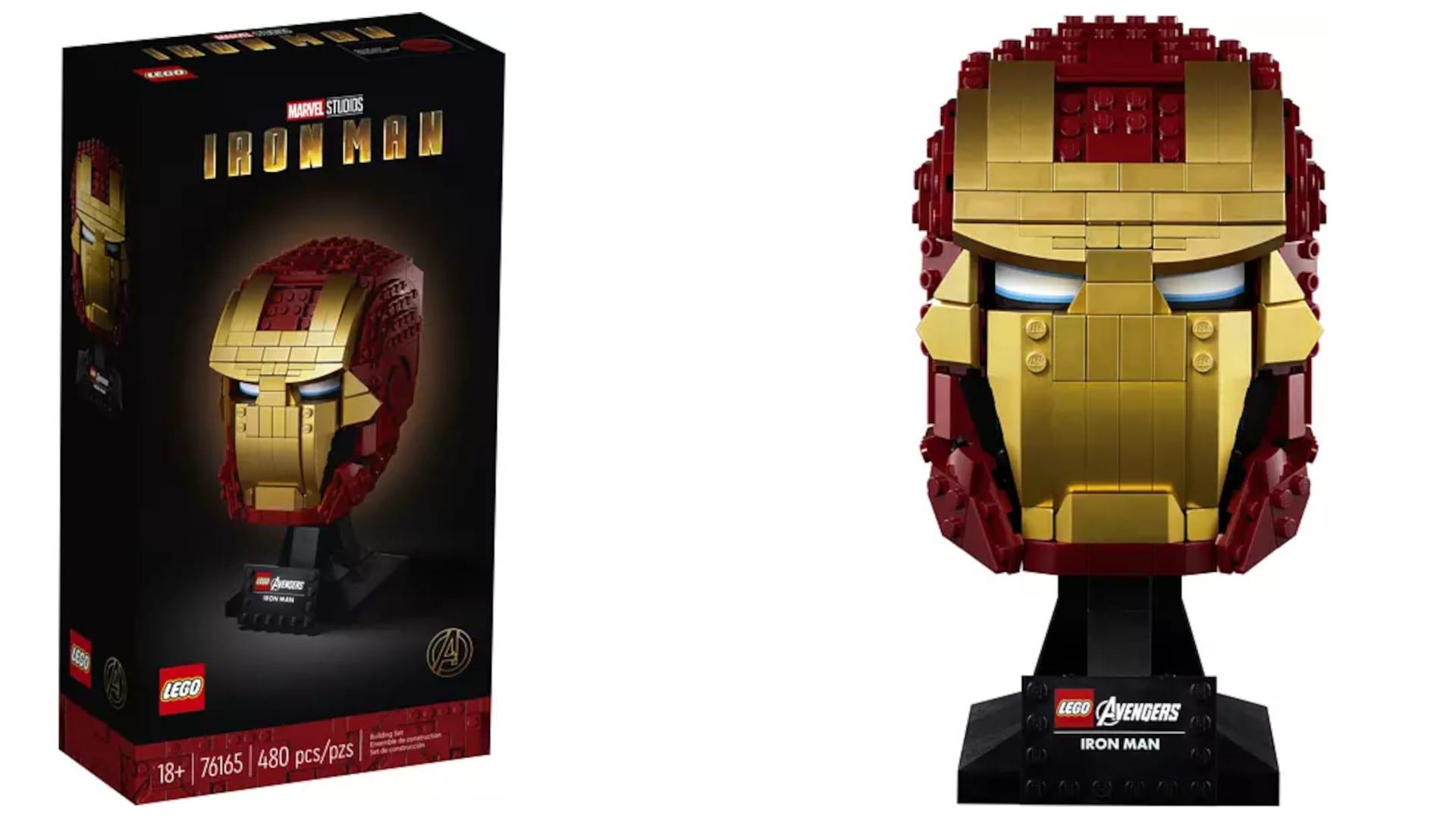 LEGO-Set Iron Mans Helm