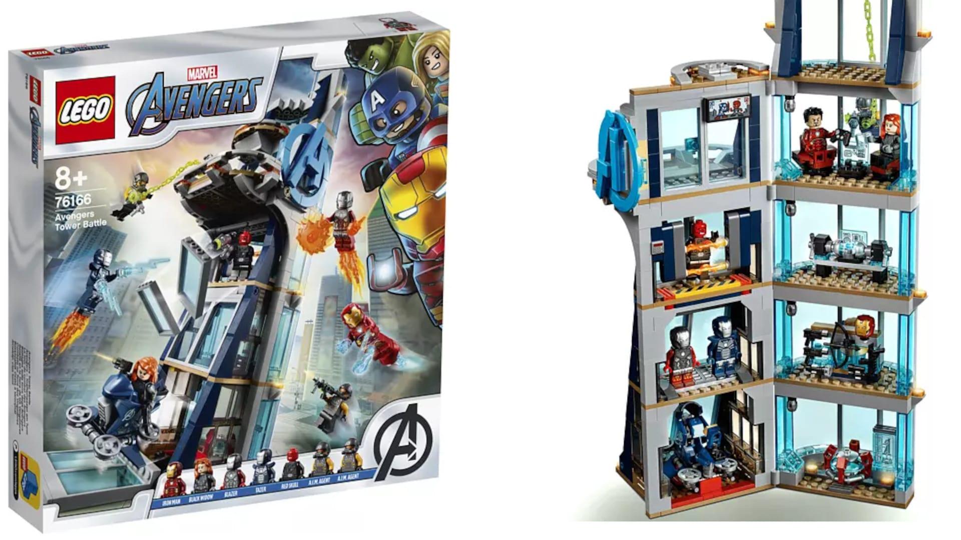 LEGO Avengers Kräftemessen am Turm
