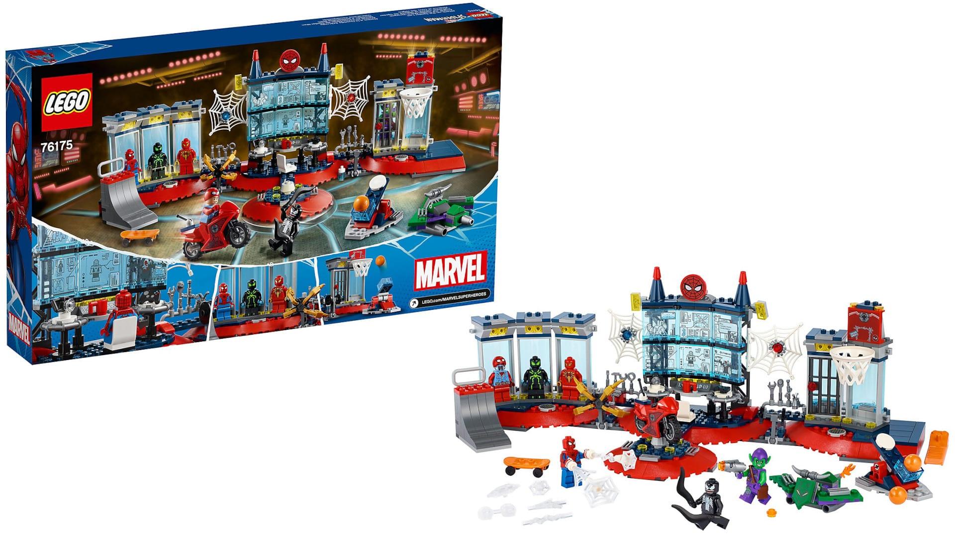 LEGO Angriff auf Spider-Mans Versteck