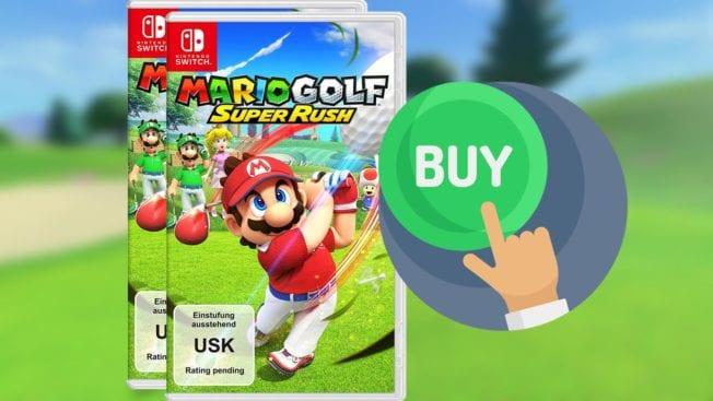 Mario Golf Super Rush - vorbestellen kaufen
