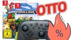 Nintendo Switch-Games günstiger bei Otto - sparen
