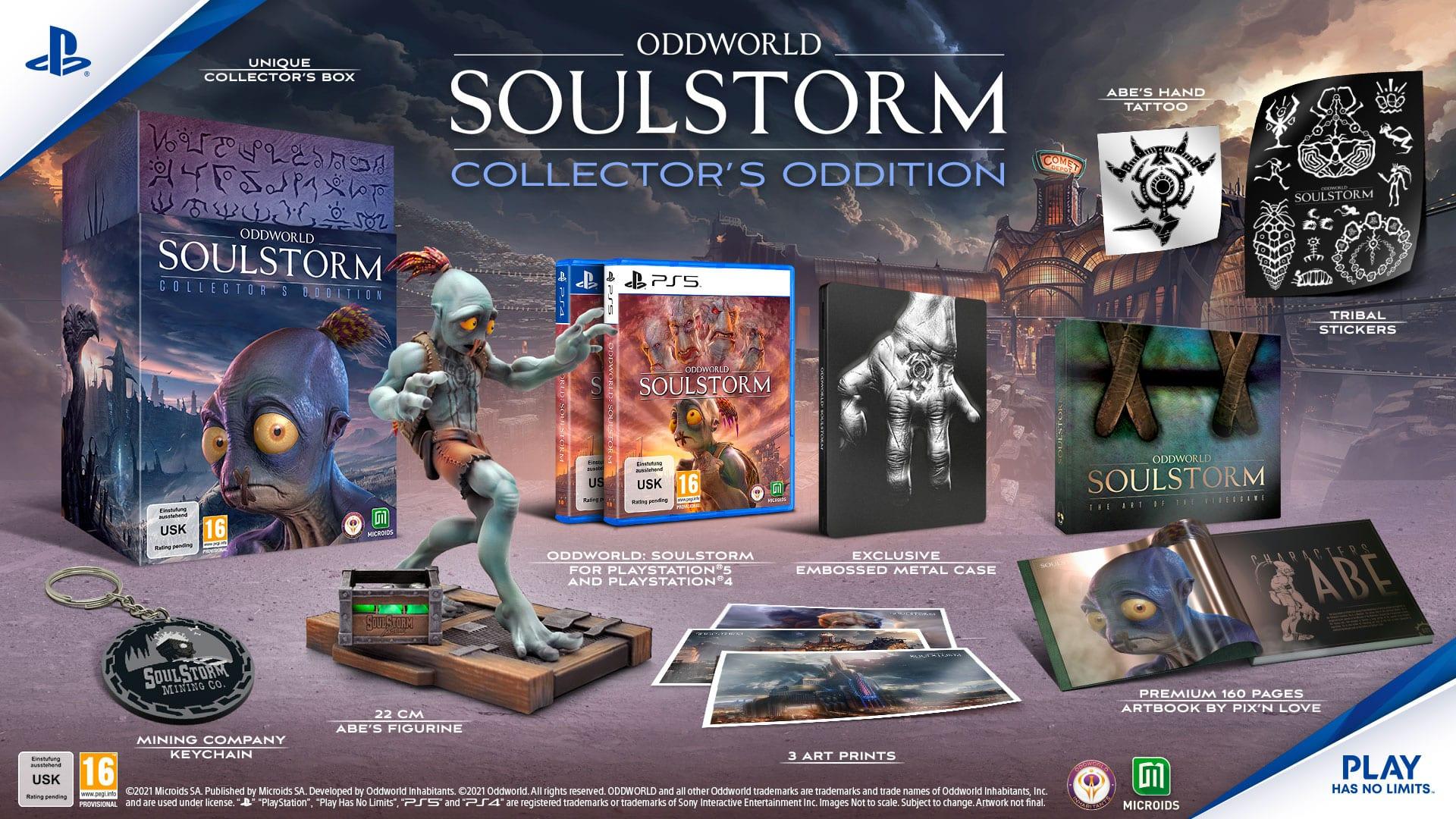 Oddworld Soulstorm - Collector's Edition Oddition