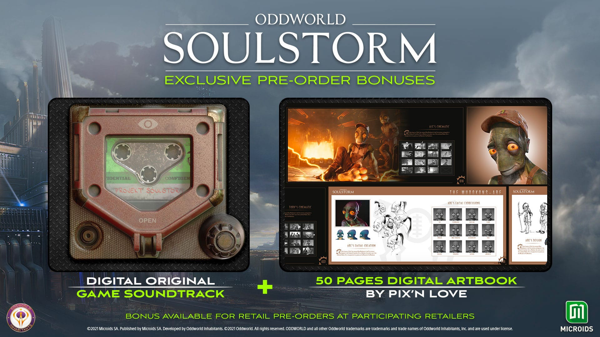 Oddworld Soulstorm - Vorbesteller Bonus