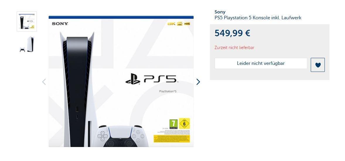 PS5 bei myToys kaufen