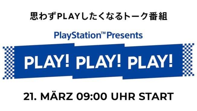Play Play Play - Präsentation im März 2021