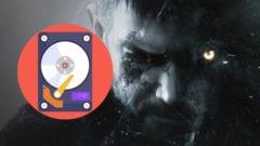 Resident Evil 8 - HDD - SSD - Größe und Speicher