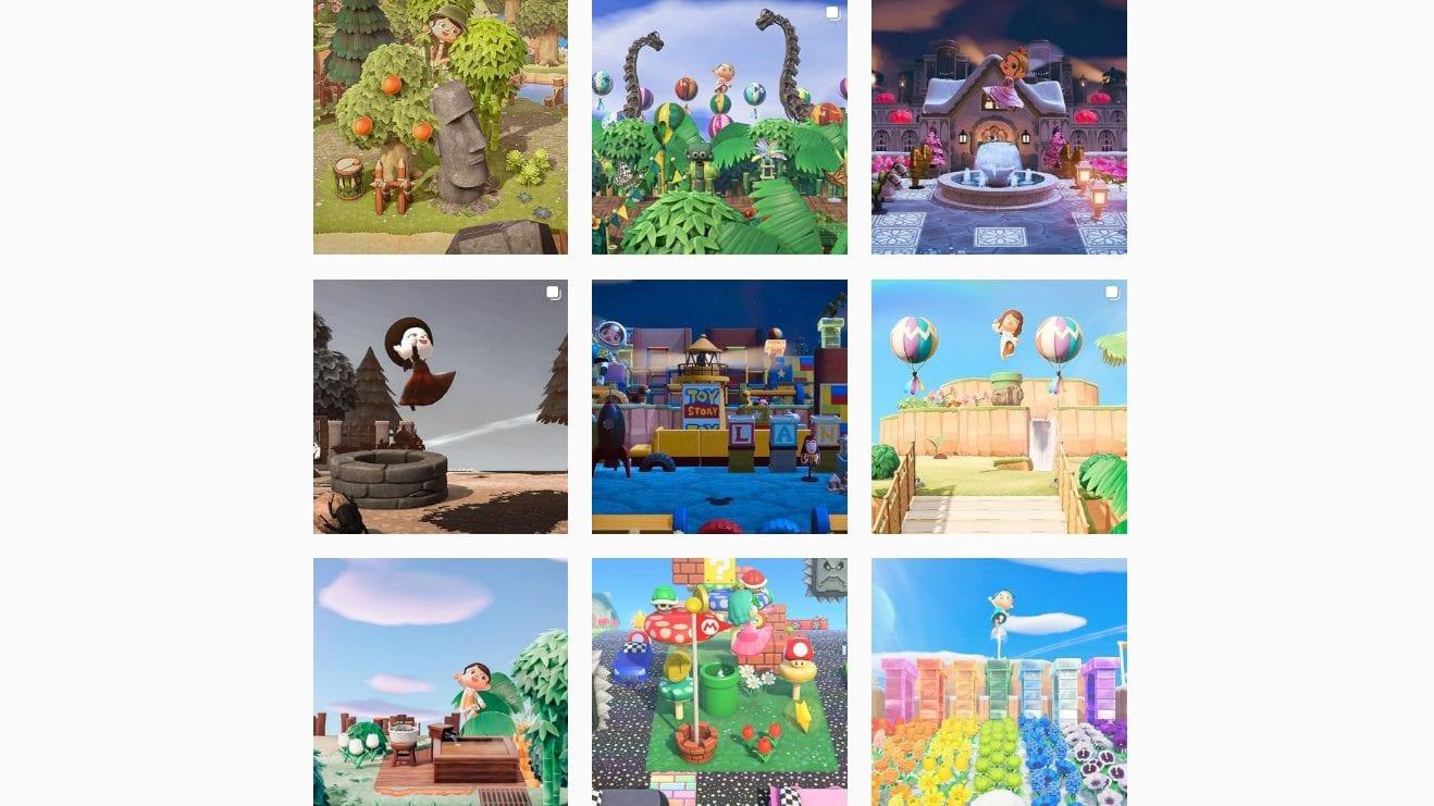 Animal Crossing ACNH Challenge Instagram
