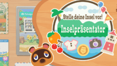 Animal Crossing New Horizons Inselpräsentator