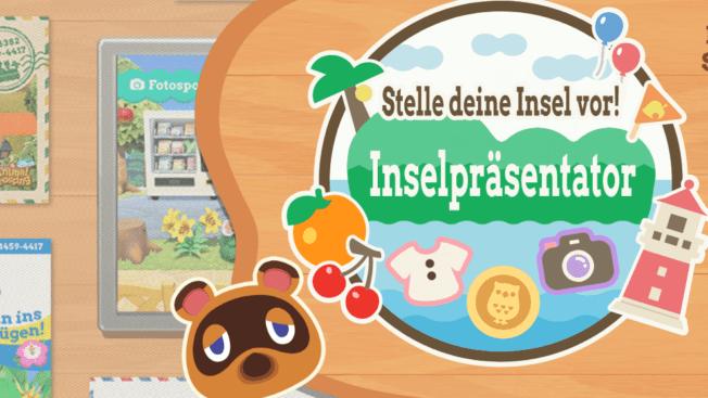 Animal Crossing New Horizons Inselpräsentator