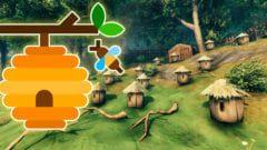 Valheim: Honig selber herstellen, Bienenstock, Honigfarm - Guide (Lösung)