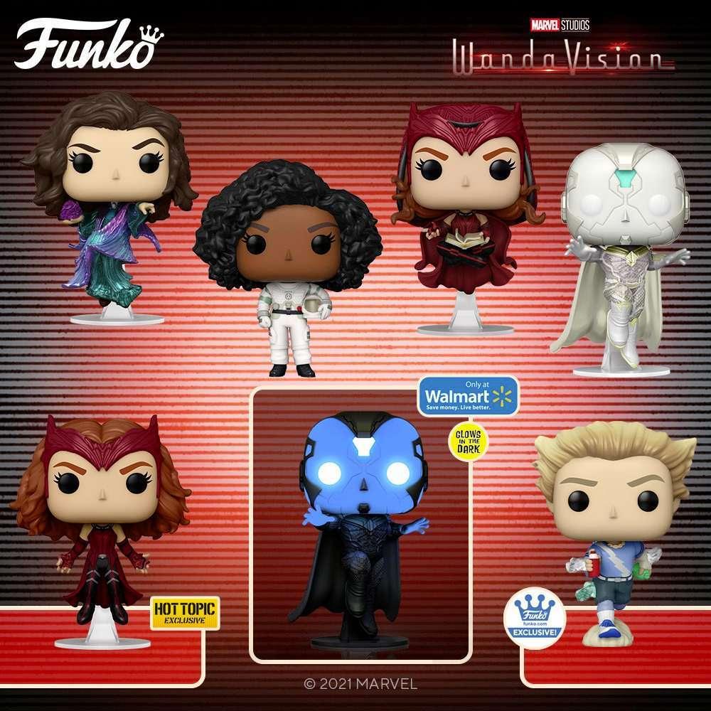 WandaVision Pop-Figuren Marvel kaufen - bei diesen Händlern