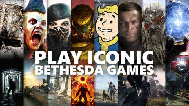 Xbox Game Pass - Bethesda-Spiele