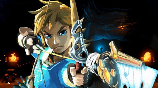 The Legend of Zelda Breath of the Wild BOTW Second Wind