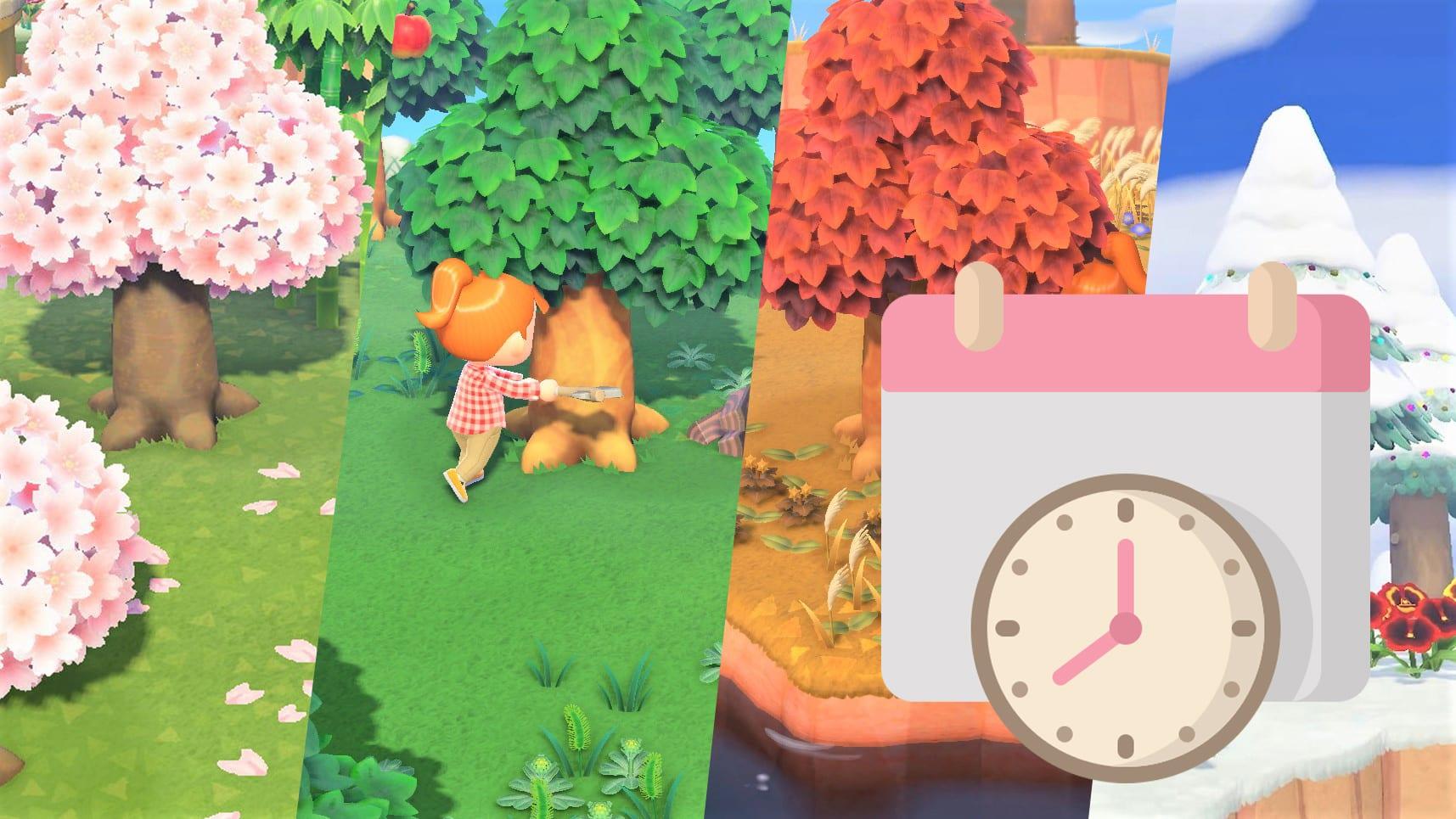 Animal Crossing New Horizons Im Jahr 2021 Alle Events Und Saisons