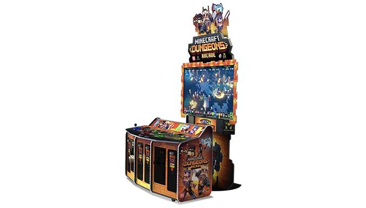 Minecraft Dungeons Arcade Spielautomat