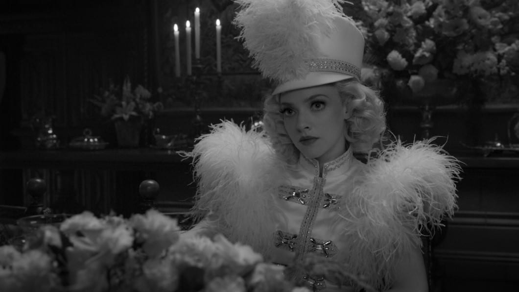 Mank Oscars 2021 Amanda Seyfriend