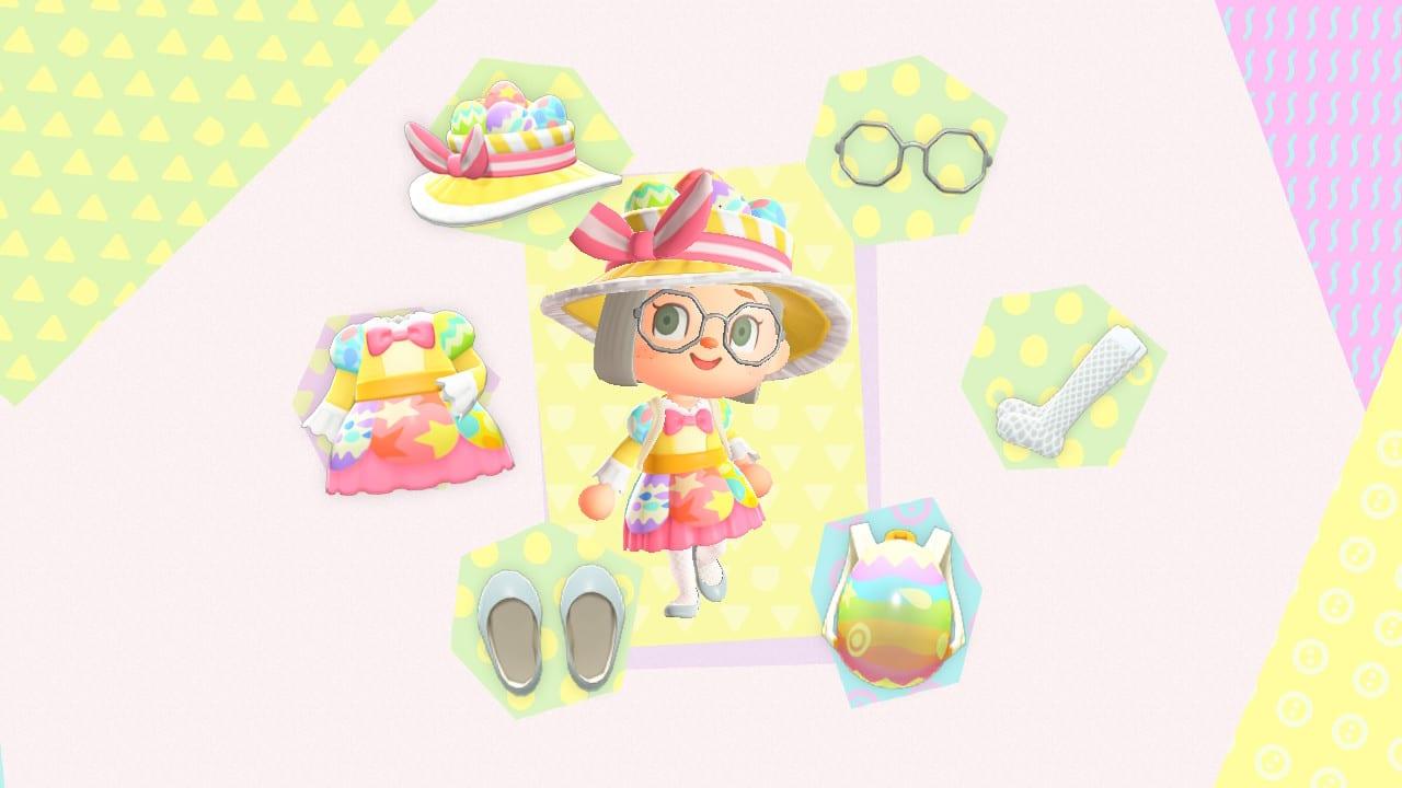 Animal Crossing New Horizons Glücksei Kleidung