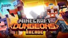 Minecraft Dungeons Arcade Automat