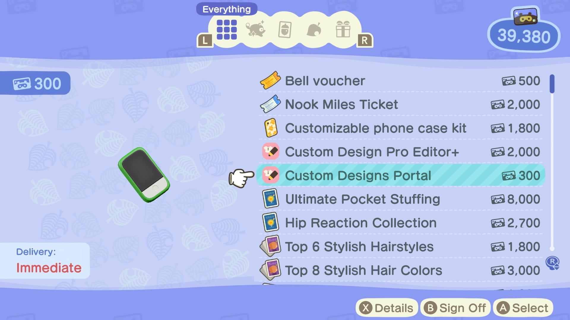 Design Portal Animal Crossing New Horizons