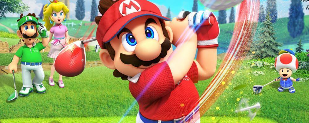Super Mario Golf Rush Teaser
