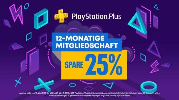 PS Plus - 12 Monate plus Guthaben - Österreich