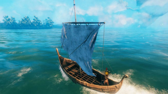 Valheim: Segel setzen - Boote bauen - Guide (Lösung)