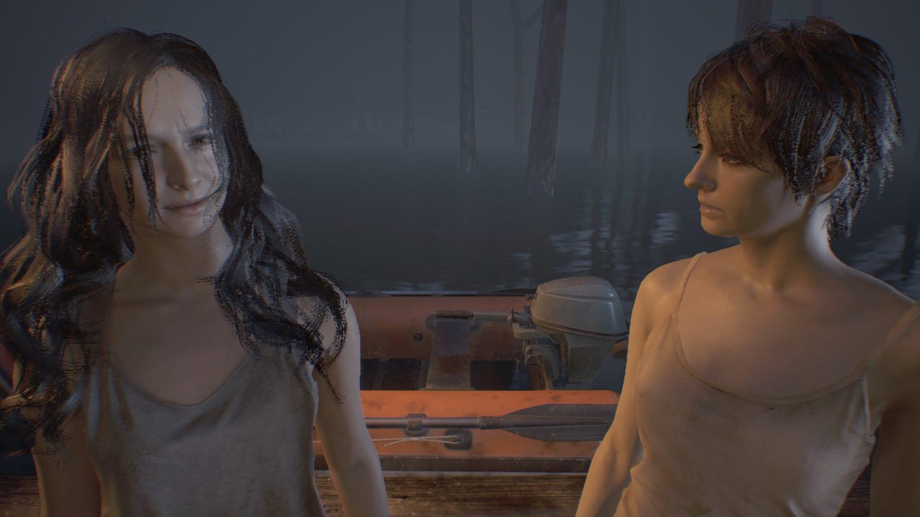 Resident Evil 7 Mia oder Zoe